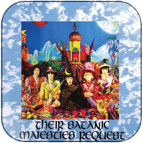 The Rolling Stones their satanic majesties request Album Cover Sticker Album Cover Sticker