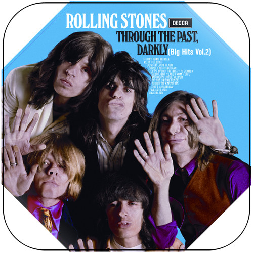 The Rolling Stones through the past darkly big hits vol 2-2 Album Cover Sticker Album Cover Sticker