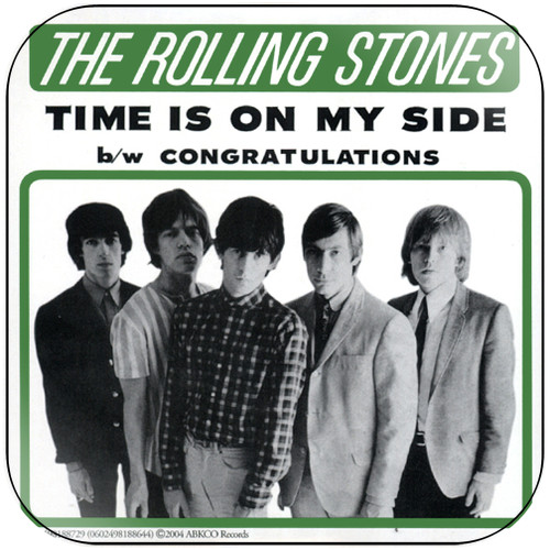 The Rolling Stones time is on my side congratulations-1 Album Cover Sticker Album Cover Sticker