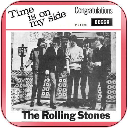 The Rolling Stones time is on my side congratulations-2 Album Cover Sticker Album Cover Sticker