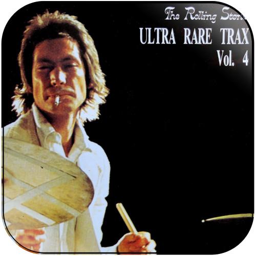 The Rolling Stones ultra rare trax volume 4 Album Cover Sticker Album Cover Sticker