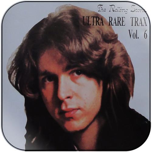 The Rolling Stones ultra rare trax volume 6 Album Cover Sticker Album Cover Sticker