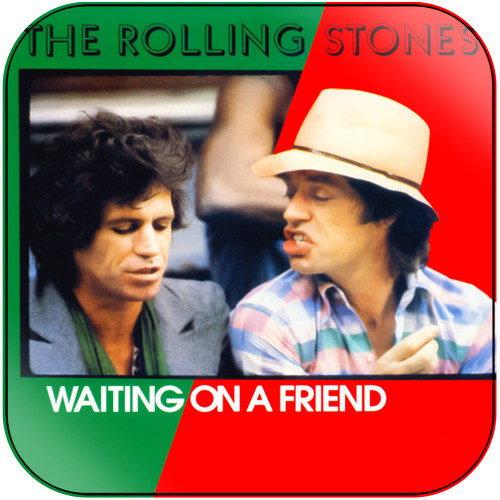 The Rolling Stones waiting on a friend Album Cover Sticker Album Cover Sticker