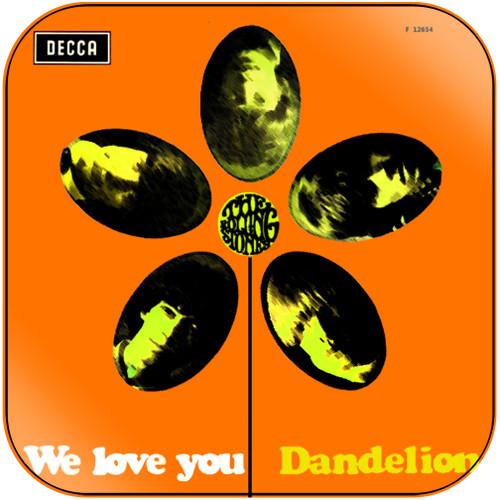 The Rolling Stones we love you dandelion-1 Album Cover Sticker Album Cover Sticker