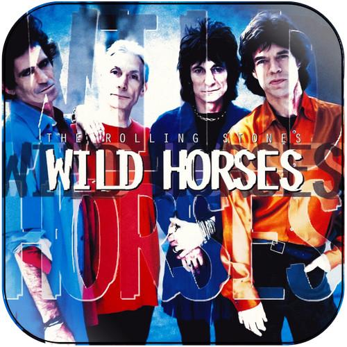 The Rolling Stones wild horses-4 Album Cover Sticker Album Cover Sticker