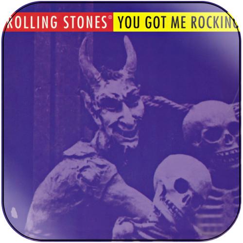 The Rolling Stones you got me rocking Album Cover Sticker Album Cover Sticker