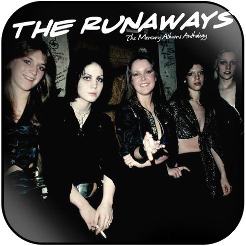 The Runaways the mercury albums anthology Album Cover Sticker Album Cover Sticker