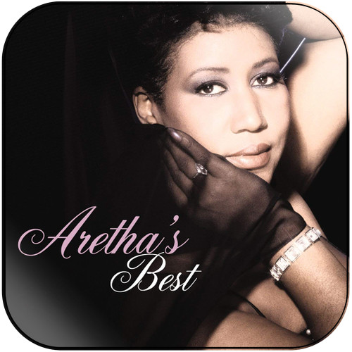Aretha Franklin Arethas Best Album Cover Sticker