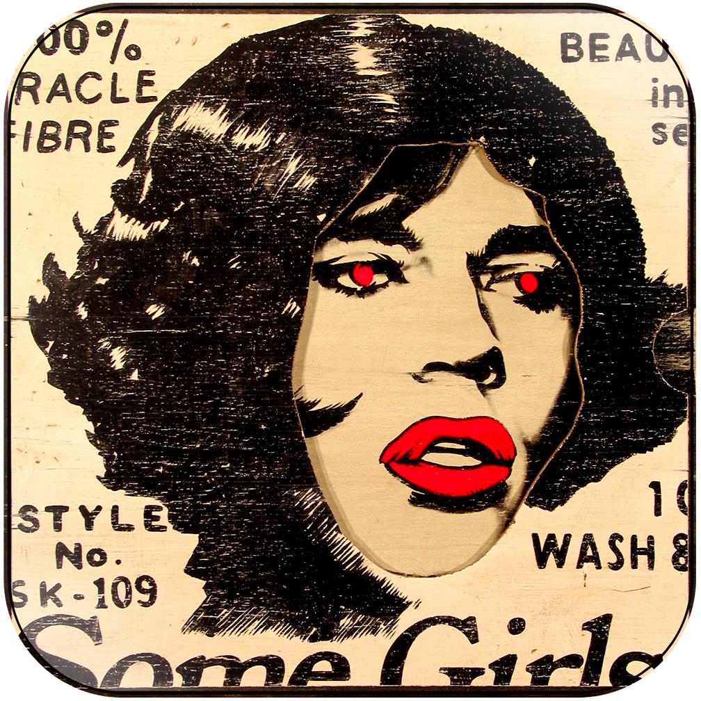 The Rolling Stones - some girls-3 Album Cover Sticker Album Cover Sticker