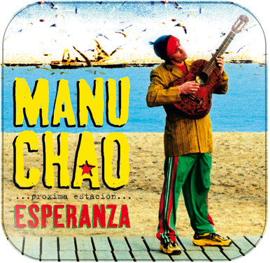 Manu Chao Próxima Estación: Esperanza Album Cover Sticker