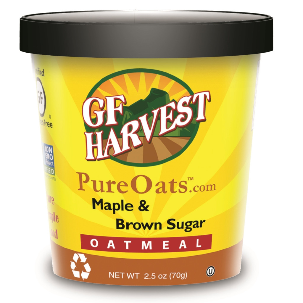 Maple & Brown Sugar Oatmeal Cups:  Imagine this flavor on a cold morning or camping.  Incredible!