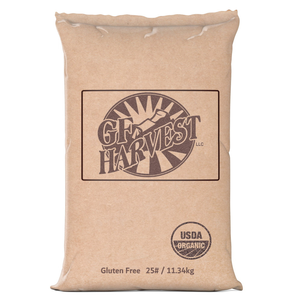25# bulk unit of  Organic Quick Oats.  Bulk sizes save money for bakers, coffee shops, crisis prepared customers, or other uses.  Quick Oats style oatmeal are cut one additional time, to increase hot water absorption. The result is a delicious, creamier oatmeal.  Certified organic,  gluten free, and non-GMO.  100% whole grain, organic rolled oats for a heart healthy start to your day or for use in your favorite recipes.