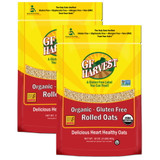 Certified organic, gluten free, and non-GMO.  100% whole grain, organic rolled oats for a heart healthy start to your day or for use in your favorite recipes.