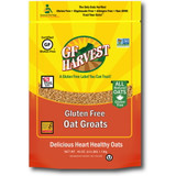 Gluten free Oat Groats. 100% whole grain, organic oat groats for a heartier healthy start to your day or for use in your favorite recipes.  Taste the difference of our uncontaminated, fresh roasted flavor that comes from our steamed, shelf stable process. Our groats are safe for those who are gluten intolerant or anyone desiring a high quality product. Use our groats for your own milling or cooking.
