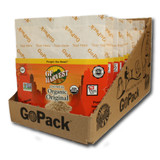 GoPack 10 pack case GF Harvest GoPackTM are an innovative way to enjoy the our quality certified gluten-free products.  Four flavors, single-serving, each in a collapsible water-proof package.