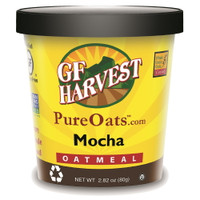 Mocha.  All natural oatmeal with cocoa, vanilla and ground cinnamon, a dash of sea salt, and coffee.  Wow!