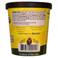 GF Harvest PureOats(TM) Cups contain no nuts, made with non-GMO certified ingredients, certified gluten free oats.    See label for complete ingredient and nutritional information.
