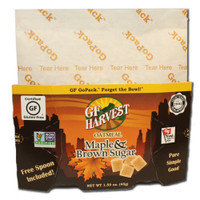 GF Harvest GoPackTM are an innovative way to enjoy the our quality certified gluten-free products.  Single-serving, each in a collapsible water-proof package.