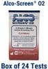 Alco Screen 02 CLIA Waived FDA Cleared Saliva Alcohol Test Chematics 56024
