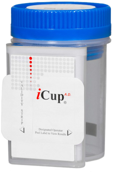 iCup 6-Panel with Adulteration Drug Test Cup