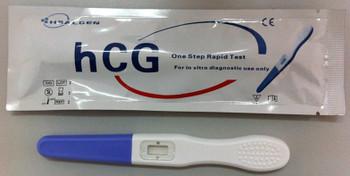 Healgen Scientific hCG Pregnancy Midstream Test  GAHCG-103a Package Open