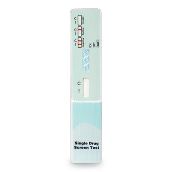 Wondfo Single Panel Drug Test Dip Card with Cap Closed