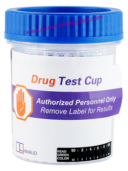 Healgen Scientific Drug Test Cup with Alcohol (EtG) Fentanyl and Tramadol HCDOAV-6164EFKT