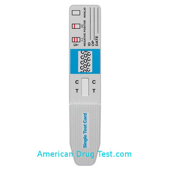 Alere iScreen Single Panel Drug Test Dip Card with Cap Closed