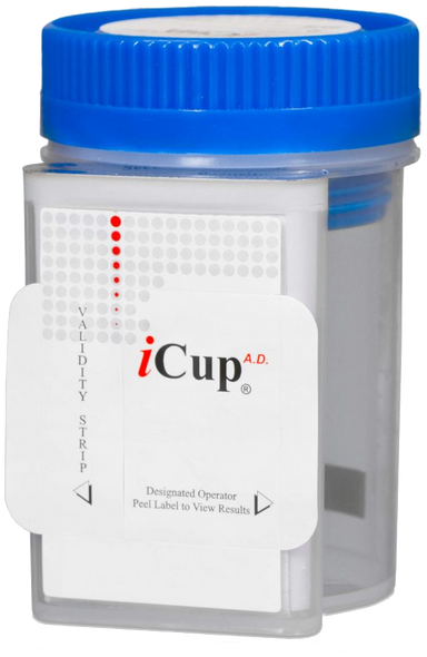iCup 4-Panel with Adulteration Drug Test Cup