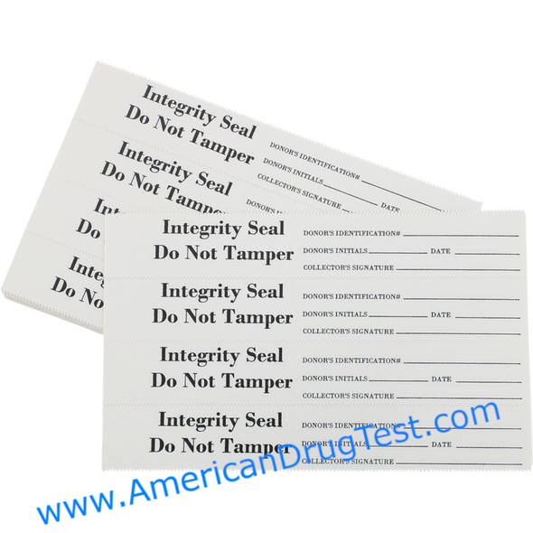 Tamper Evident Security Seals: White, 400/Package #TS202W