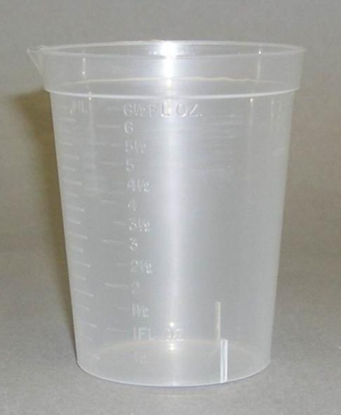 Polypropylene Collection Beaker #TC275 190mL
