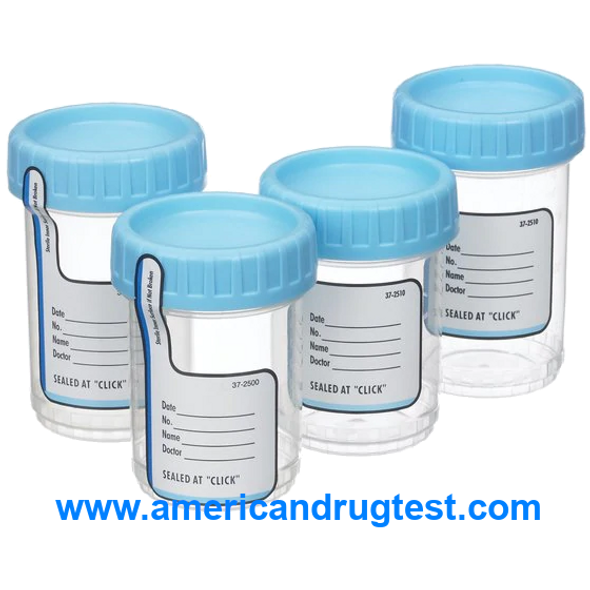 Specimen Container for Pneumatic Tube Systems ClikSeal™ Polypropylene Screw Cap 120 mL (4 oz.) Sterile 300/Case