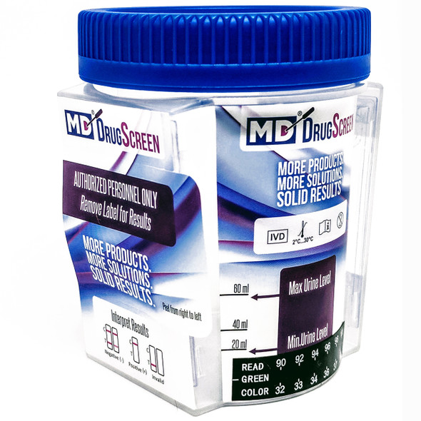 Medical Disposables DrugScreen 10 Panel Drug Test Cup with 6 Adulterants from American Drug Test