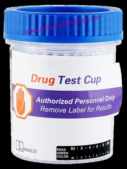 Healgen Scientific Drug Test Cup with Alcohol (EtG) Fentanyl and Tramadol HCDOAV-6165E3FKTA3A