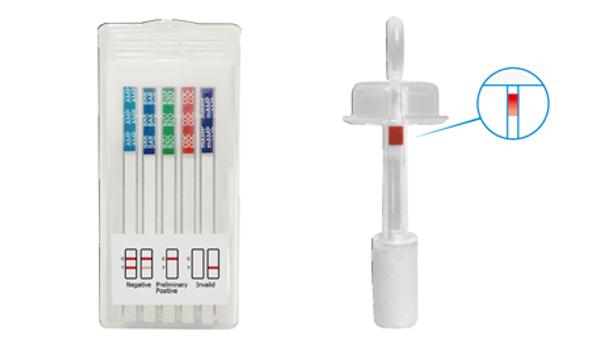 5 Panel T-Cube Oral Saliva Drug Saturation Indicator