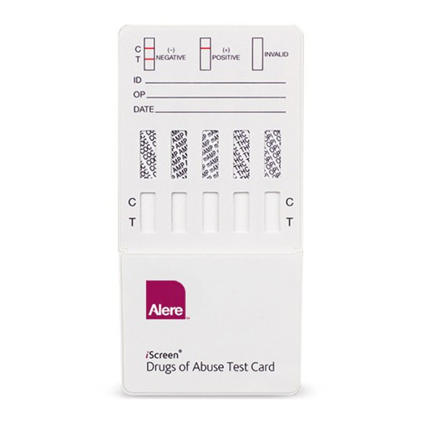 Alere 8 panel drug test dip card