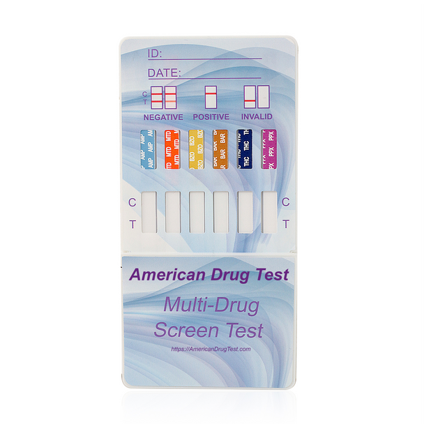 Healgen Drug Test Dip Card HDOA-6124