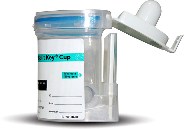 ALERE 5 PANEL INTEGRATED EZ SPLIT KEY CUP - OPEN