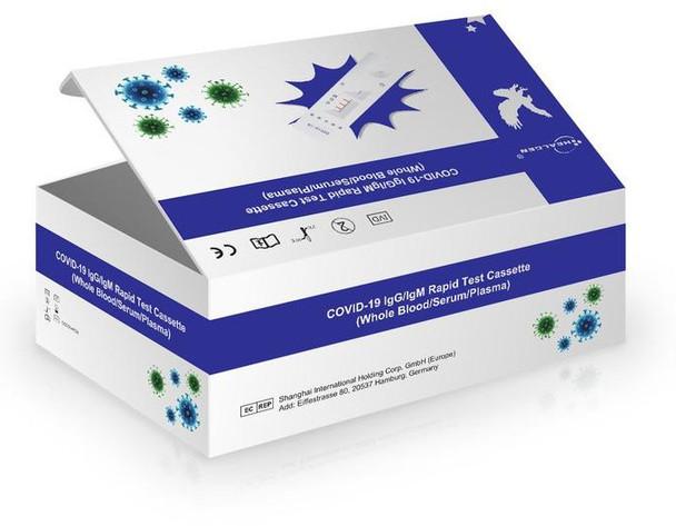 Healgen Corona Virus Covid-19 Rapid Antibody Test Kit 25/Box