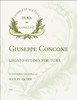 Concone Solfeggi for Tuba