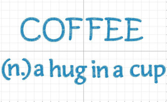 Coffee (n) a hug in a cup shirt