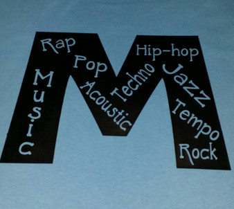 M for Music shirt