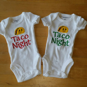 Taco night baby