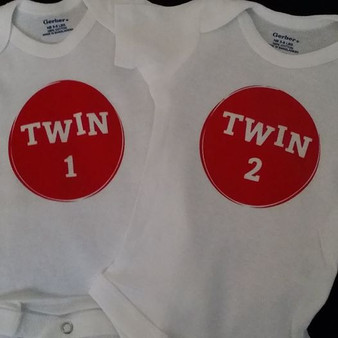 Twin 1 and Twin 2