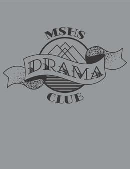 Drama logo water bottle