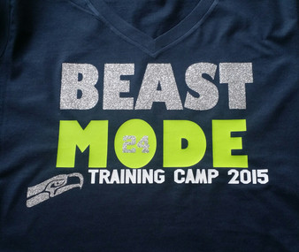 Beast Mode Bling Hawks