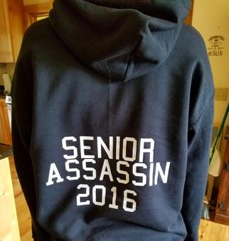 Senior Assasin Game Shirt