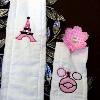 Paris Burp Cloth Set