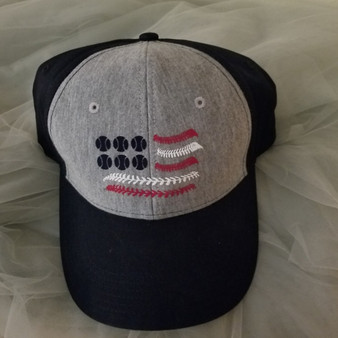 Baseball Flag Hat