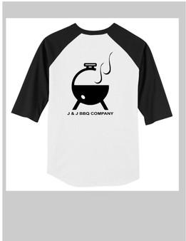 J & J BBQ Baseball Shirt